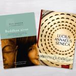 Kahden kirjan kannen suunnittelu