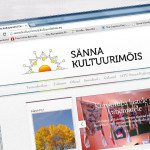 Website for a culture manor in South Estonia
