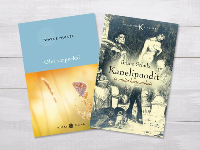 Coverdesign für zwei Bücher