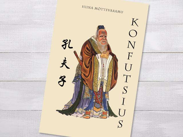 """Raamatu """"Konfutsius"""" kujundus"""