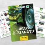 Driving guide brochure design