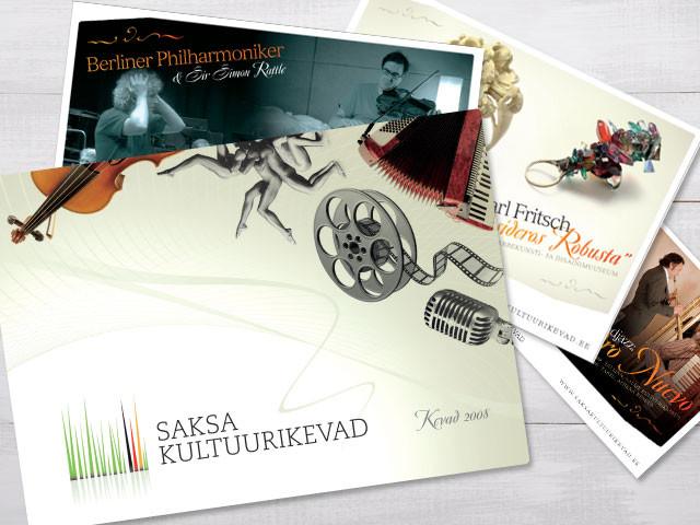 Saksa Kultuurikevade veebileht ja infomaterjalid