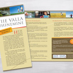 Information brochures and posters design