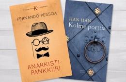 Kahe raamatu kaanekujundus