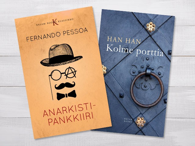 Cover design for two books